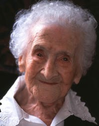 Jeanne Calment 122 years old